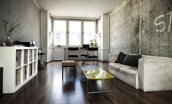 Städad lägenhet inför visning
